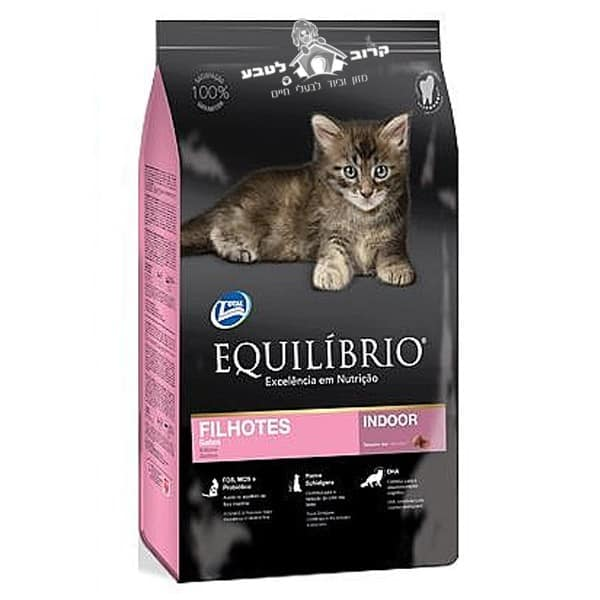 """אוכל לגורי חתולים אקווליבריו – Equilibrio קיטן 15 ק""""ג"""