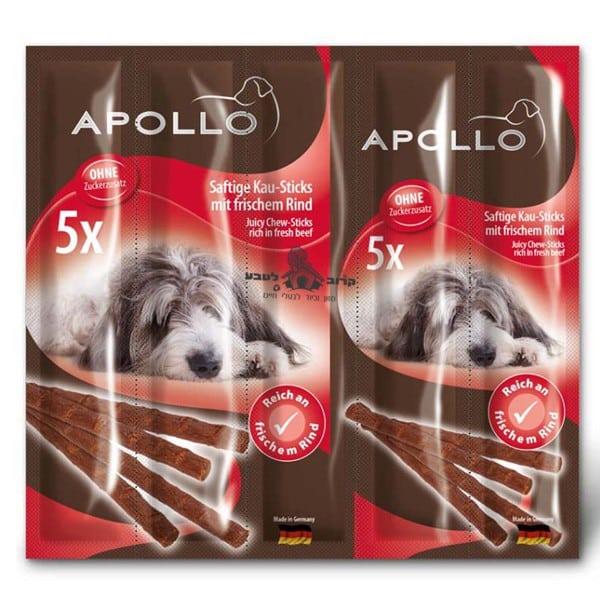 אפולו חטיף מקלות לעיס לכלב