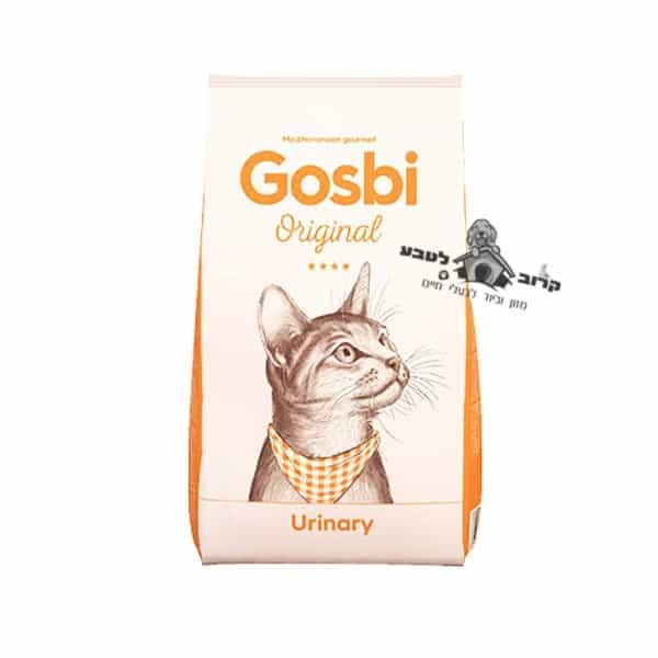 """גוסבי יורינרי לחתול לשמירה על דרכי השתן 3 ק""""ג"""