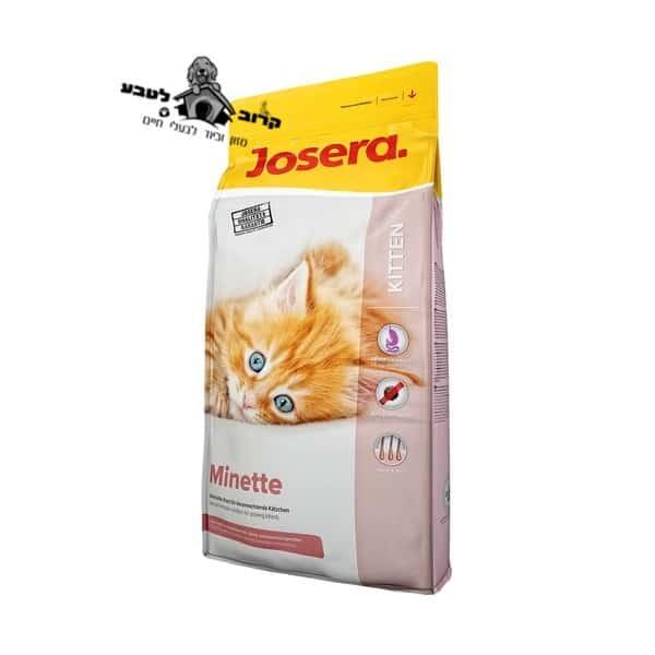 """ג'וסרה מינט-לגורי חתולים 10 ק""""ג Josera"""