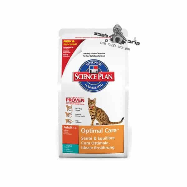 """הילס סיינס פלאן מזון לחתול בוגר – טונה – 5 ק""""ג הילס Hills"""