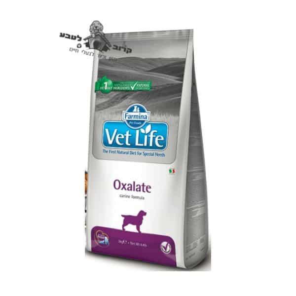 """וט לייף Vet Life – מזון רפואי לכלב בוגר עם אבנים בכליות – שק 2 ק""""ג פארמינה Farmina"""