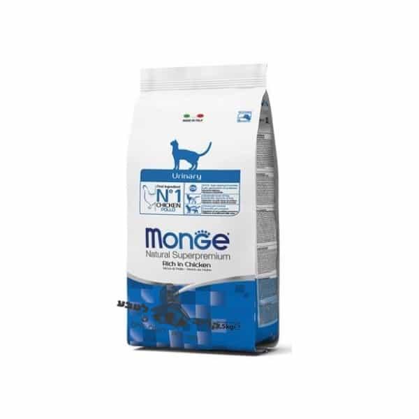 """מונד'-מזון לחתולים נטורל יורינרי לבעיות בדרכי השתן והכליות 1.5 ק""""ג מונג' Monge"""