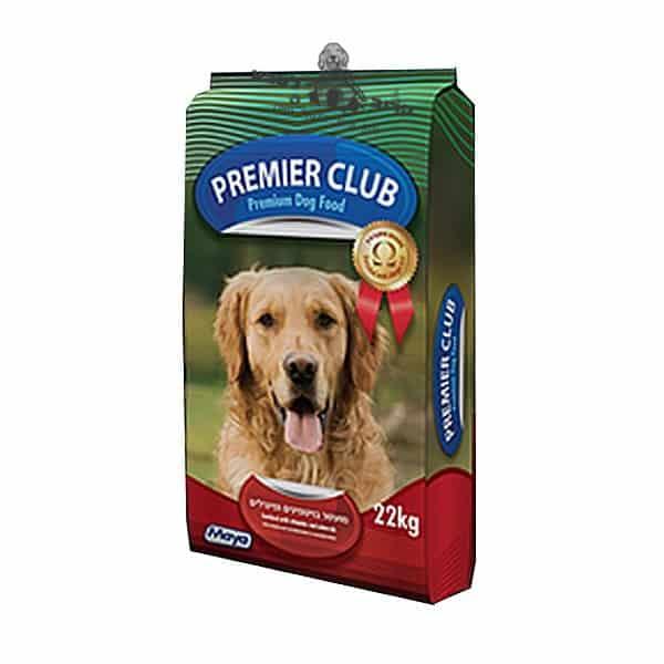 """מזון לכלב פרימייר קלאב / Premier Club22.6 ק""""ג"""