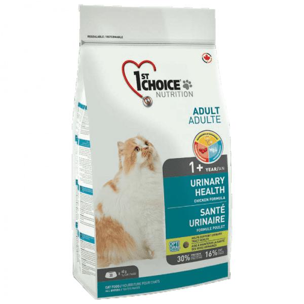 """פירסט צ'ויס יורינרי אוכל לחתולים עם בעיות בדרכי השתן 5.4 ק""""ג"""