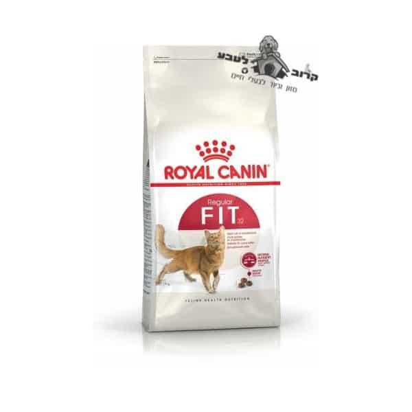 """רויאל קנין אוכל לחתולים – פיט 32 Fit – משקל 15 ק""""ג Royal Canin"""