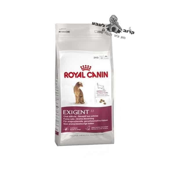 """רויאל קנין מזון לחתול – אקסיג'נט ארומטיק Exigent Aromatic- משקל 4 ק""""ג רויאל קנין Royal Canin"""