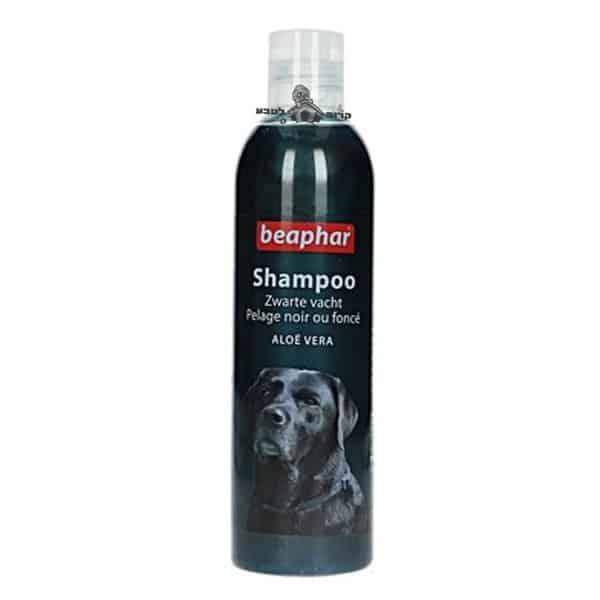 שמפו ביהפר לכלבים עם פרווה כהה ושחורה – Beaphar