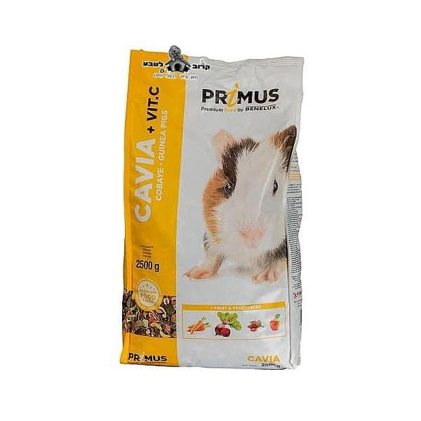 """תערובת מזון לשרקנים פרימוס בנלוקס 2.5 ק""""ג"""