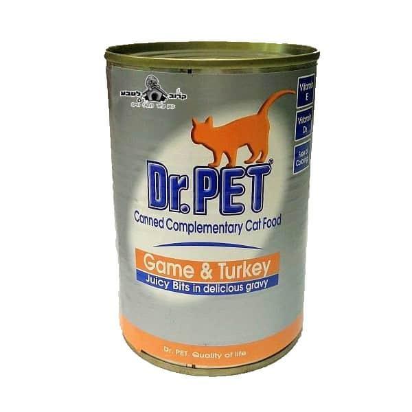Dr.PET עם בשר צייד והודו