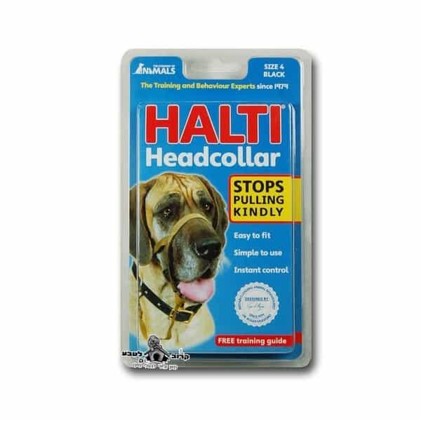 Halti Dog Head Collar -הלטי ריתמת ראש מידה 4