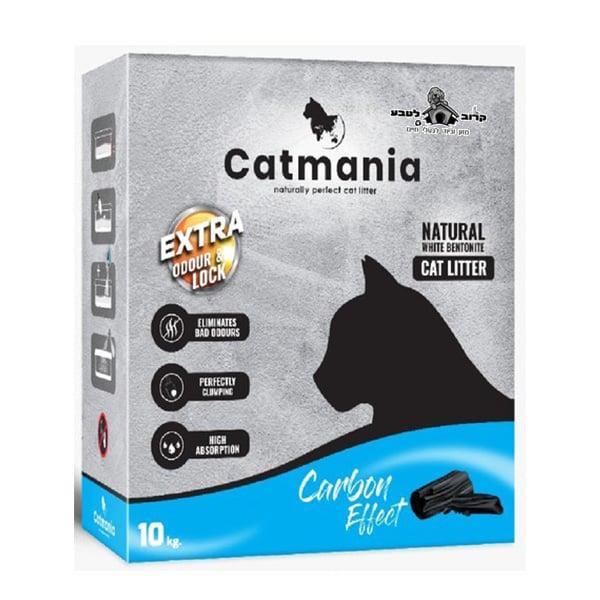 חול לחתולים קטמאניה עם פחם פעיל 10 גרם בקרטון 2 ב 140 ₪