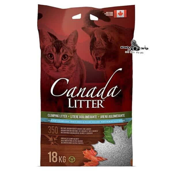 """חול לחתולים מתגבש  – 18 ק""""ג קנדה"""