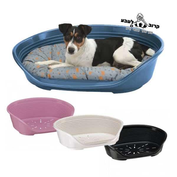 מיטה לכלבים דלוקס – מיטת פלסטיק מבית פרפלסט